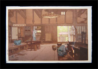 Yoshida's Last Print: <i>Farmhouse</i> <b>(SOLD)</b>