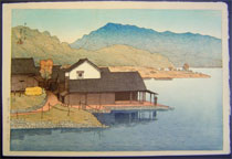 Hasui: <i>Lake Kugushi in Wakasa<i>