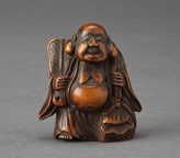 Netsuke of Hotei
